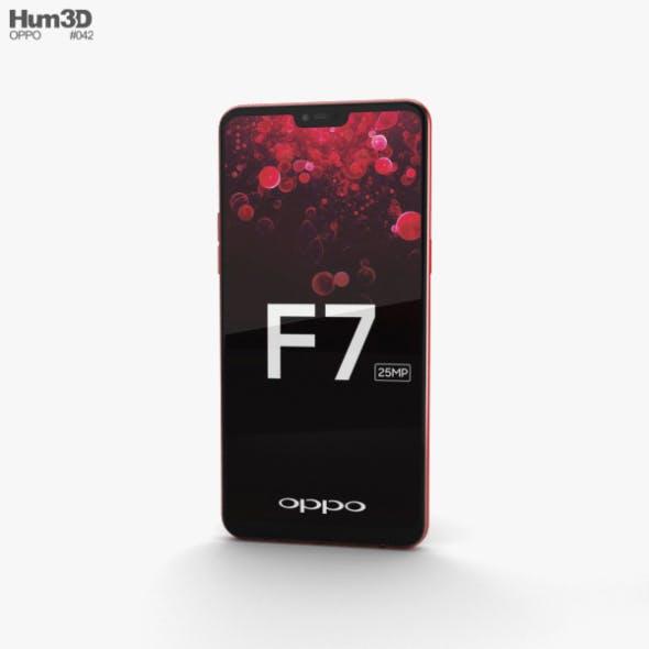 Oppo F7 Solar Red - 3DOcean Item for Sale