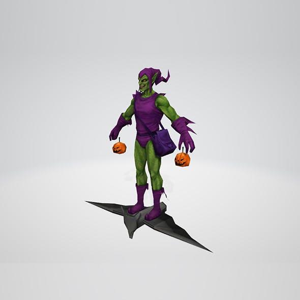 Green Goblin Classic - 3DOcean Item for Sale