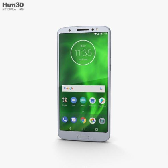 Motorola Moto G6 Silver - 3DOcean Item for Sale