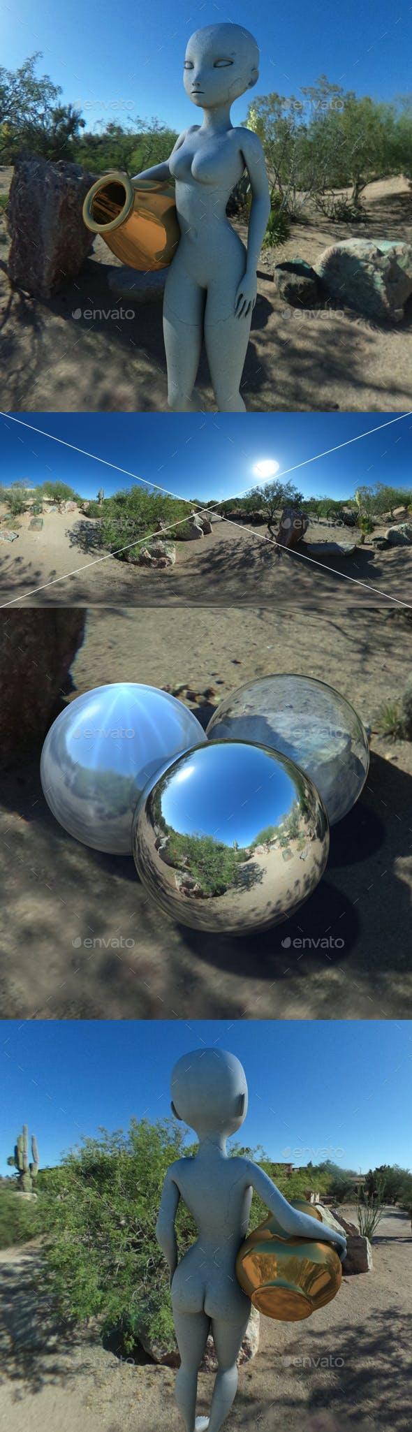 Desert Sun HDRI - 3DOcean Item for Sale