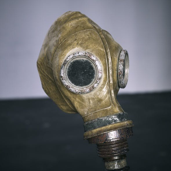Gas Mask Soviet - 3DOcean Item for Sale