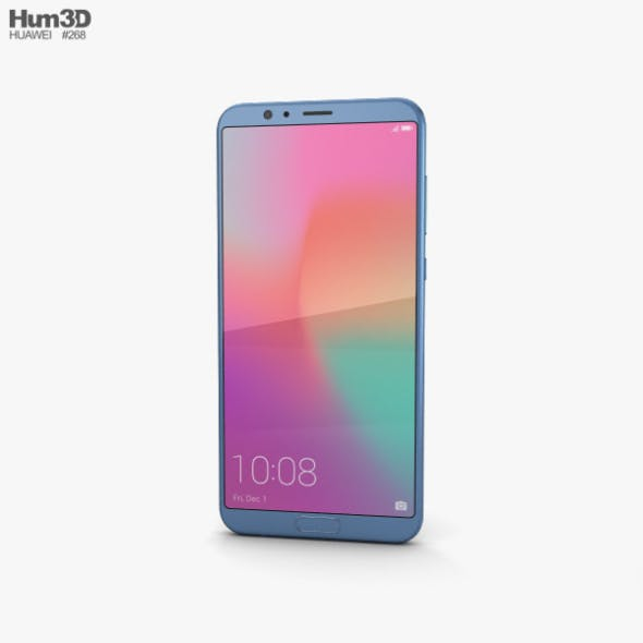 Huawei Honor View 10 Navy Blue - 3DOcean Item for Sale