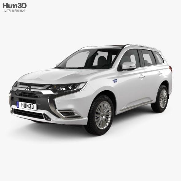Mitsubishi Outlander PHEV 2018 - 3DOcean Item for Sale