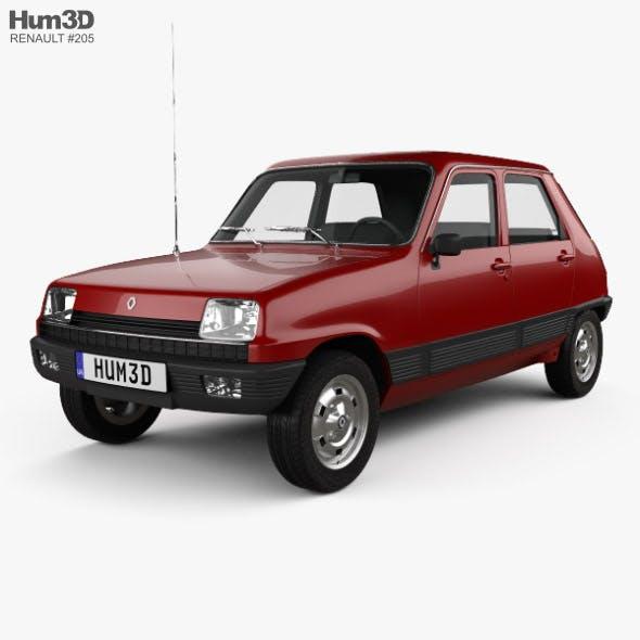 Renault 5 5-door 1972 - 3DOcean Item for Sale