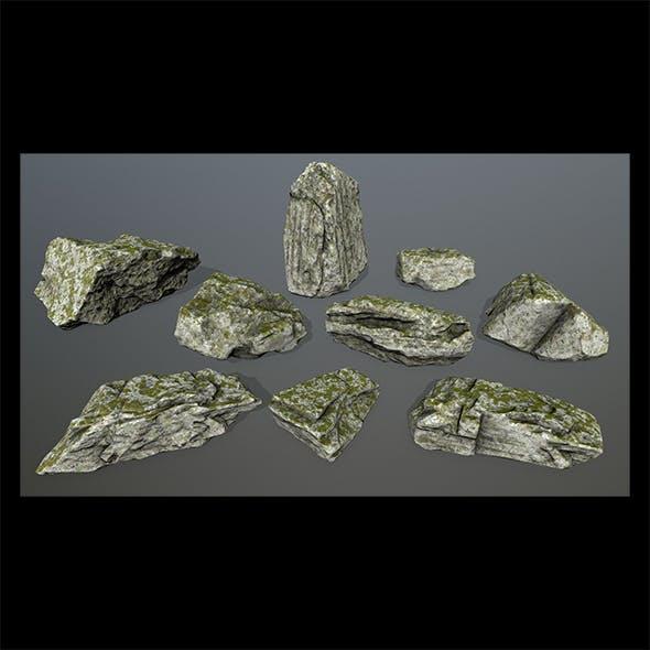 rocks set - 3DOcean Item for Sale