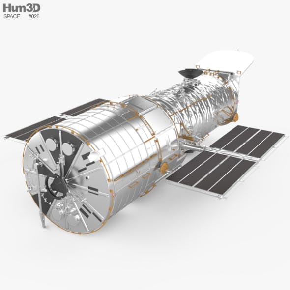 Hubble Space Telescope - 3DOcean Item for Sale