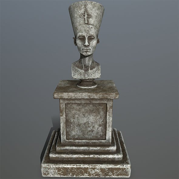 nefertiti - 3DOcean Item for Sale