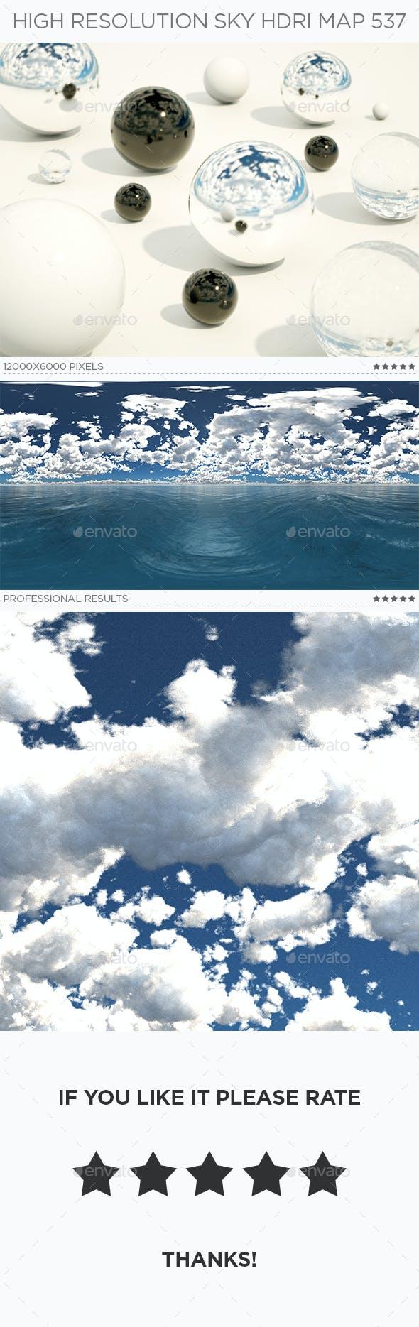 High Resolution Sky HDRi Map 537 - 3DOcean Item for Sale