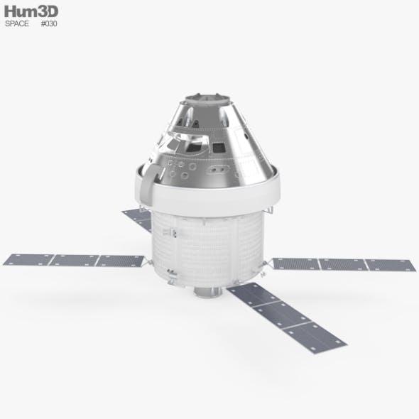 Orion spacecraft - 3DOcean Item for Sale