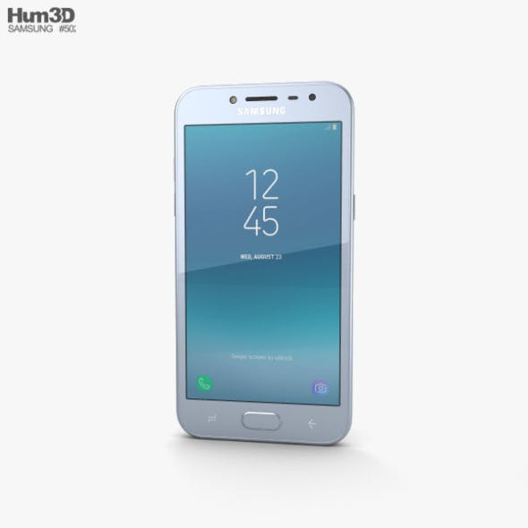 Samsung Galaxy J2 Pro Blue - 3DOcean Item for Sale