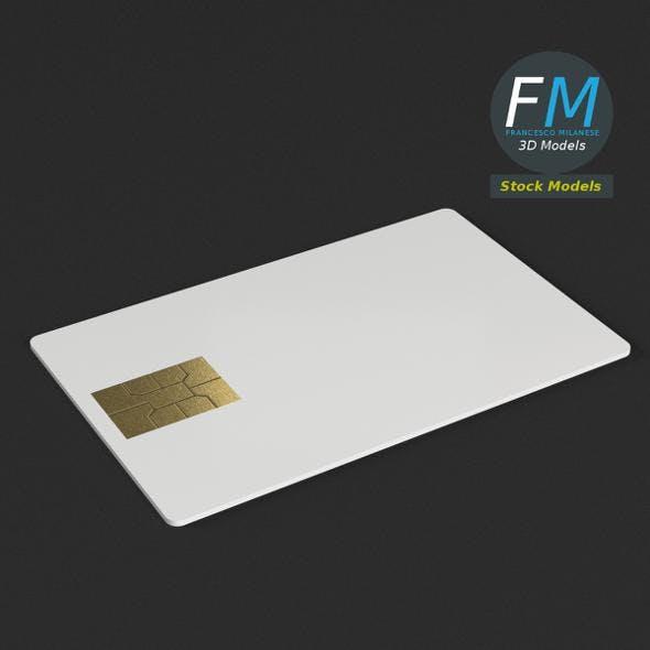 Credit card mockup - 3DOcean Item for Sale