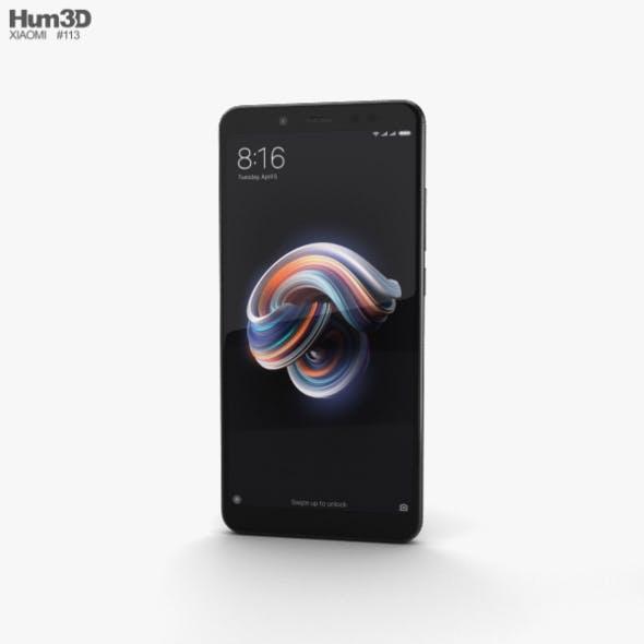 Xiaomi Redmi Note 5 Pro Black - 3DOcean Item for Sale