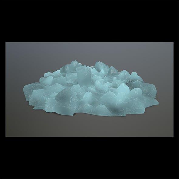 ice rocks - 3DOcean Item for Sale