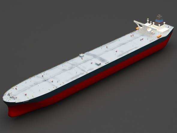 Oil ship - 3DOcean Item for Sale
