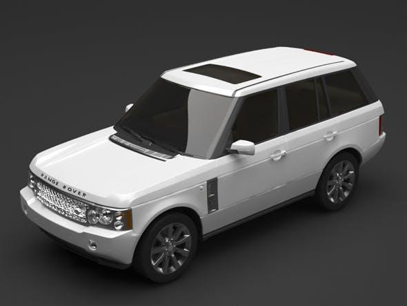 Range rover - 3DOcean Item for Sale