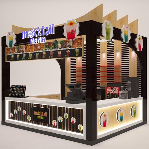 Food Kisok - 3DOcean Item for Sale