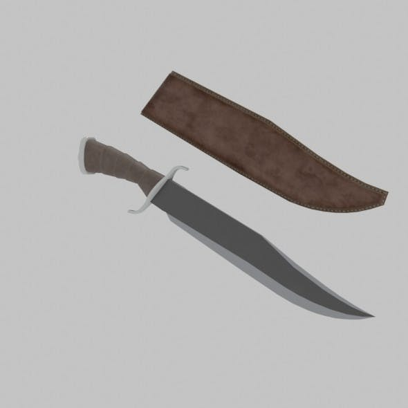 Combat Knife - 3DOcean Item for Sale