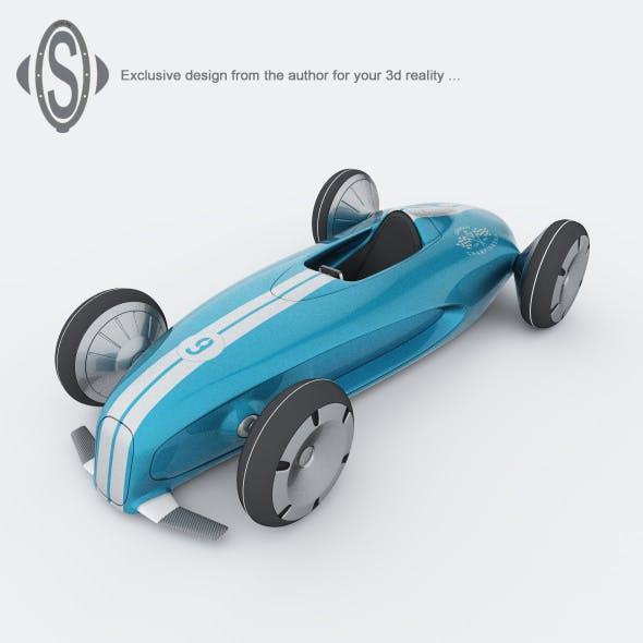 RACER 9 - 3DOcean Item for Sale