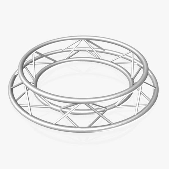 Circle Triangular Truss (Full diameter 150cm) - 3DOcean Item for Sale