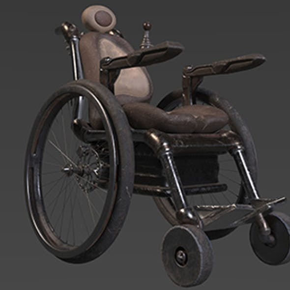 Animated AAA Wheelchair