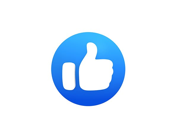Animated Facebook Like Button - 3DOcean Item for Sale
