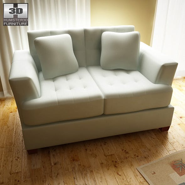 Ashley Zia - Spa Loveseat - 3DOcean Item for Sale