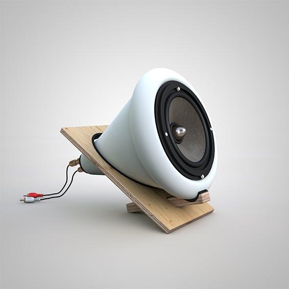 Audio Speakers - 3DOcean Item for Sale