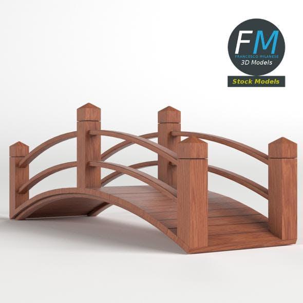 Wooden flower dolly - 3DOcean Item for Sale