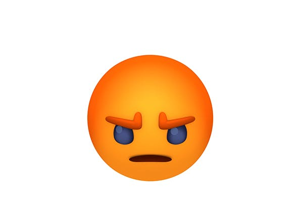Animated Facebook Angry Reaction Button - 3DOcean Item for Sale