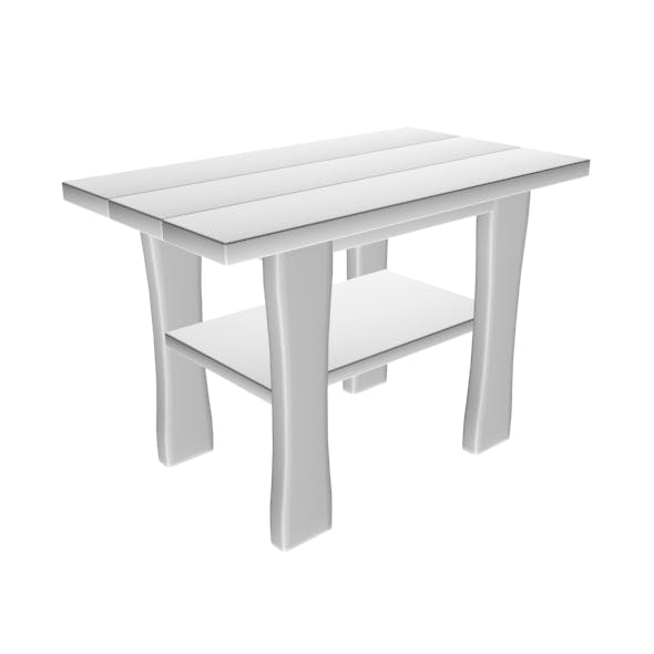 Table 01 - 3DOcean Item for Sale