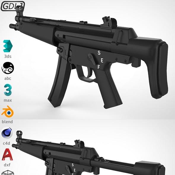 MP5 - Realistic model