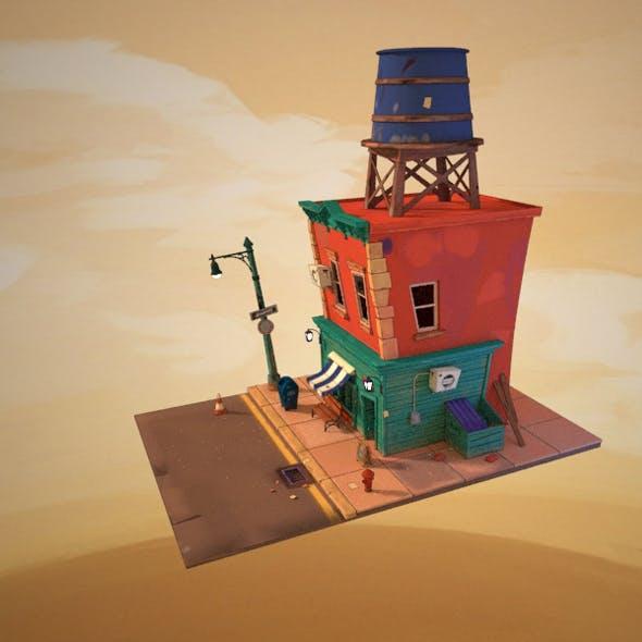 Stylized cartoon House - 3DOcean Item for Sale