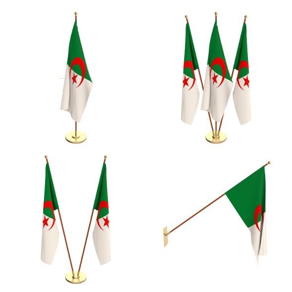 Algeria Flag Pack - 3DOcean Item for Sale