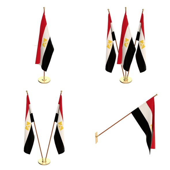 Egypt Flag Pack - 3DOcean Item for Sale