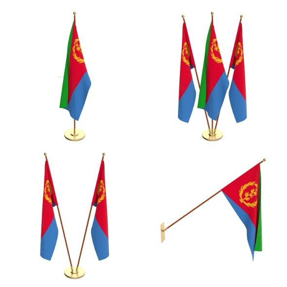 Eritrea Flag Pack - 3DOcean Item for Sale
