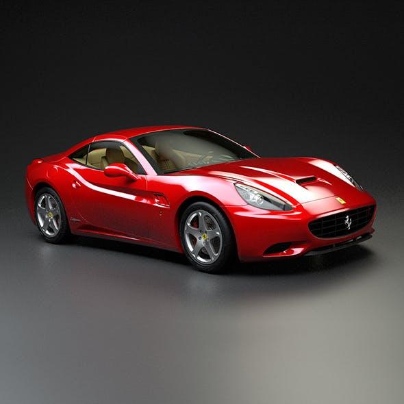 Ferrari California - 3DOcean Item for Sale