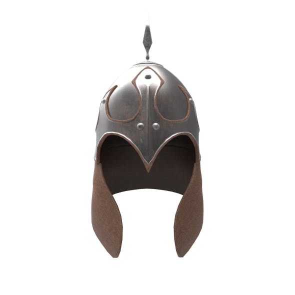 Mongolian Warrior helmet - 3DOcean Item for Sale