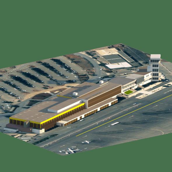 Ahmed Ben Bella Airport - 3DOcean Item for Sale
