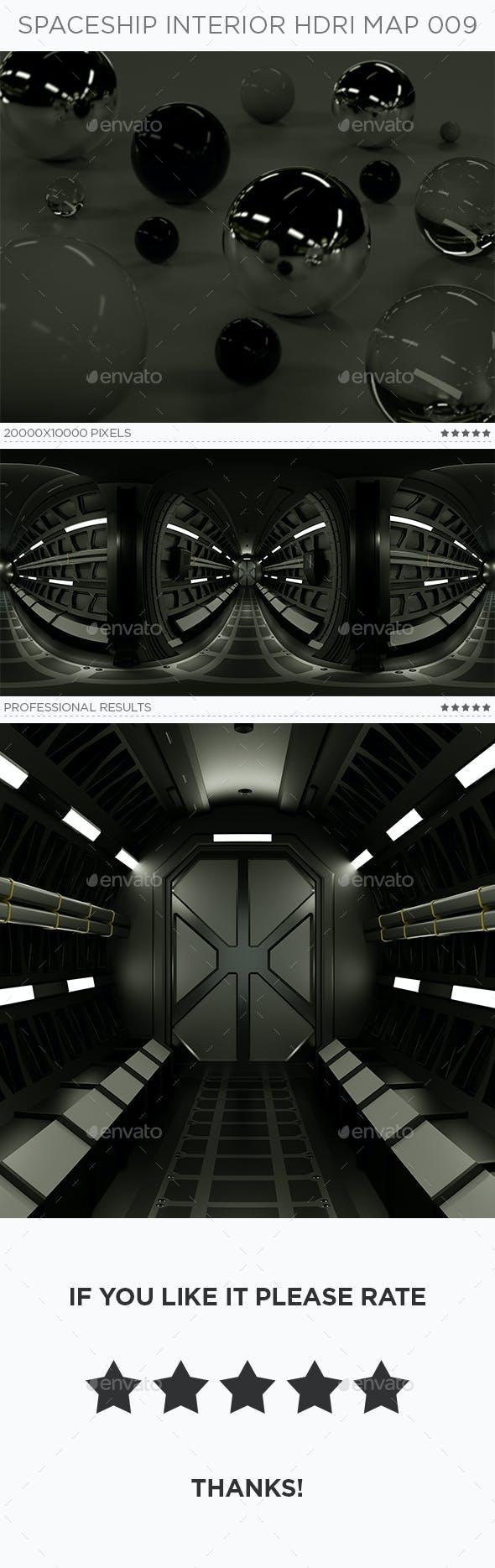 Spaceship Interior HDRi Map 009 - 3DOcean Item for Sale