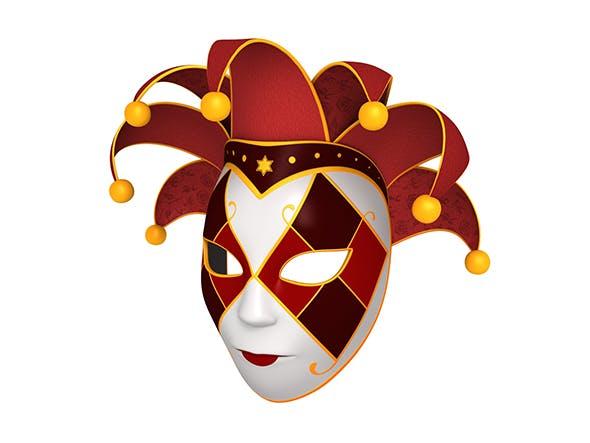 Venetian Mask - 3DOcean Item for Sale