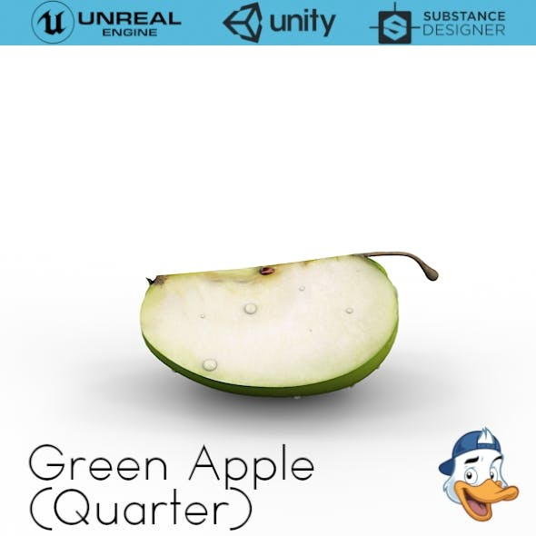 Green Apple (Quarters)