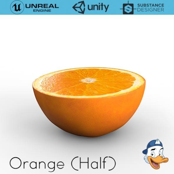 Orange (Half)