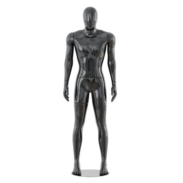 Faceless male mannequin 41 - 3DOcean Item for Sale