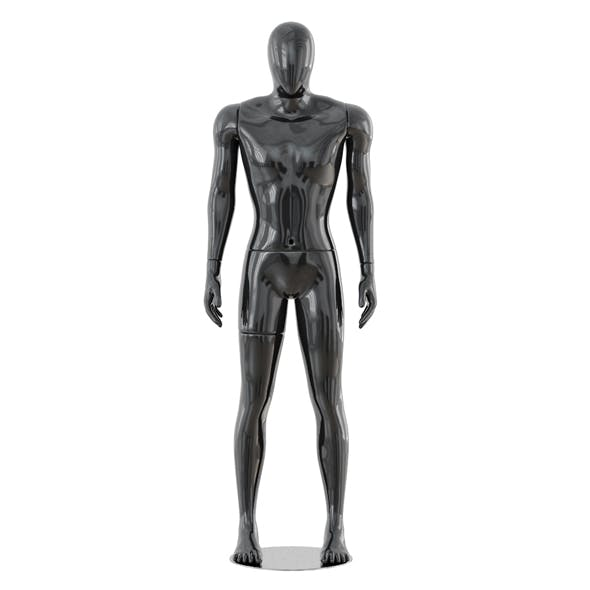 Faceless male mannequin 41