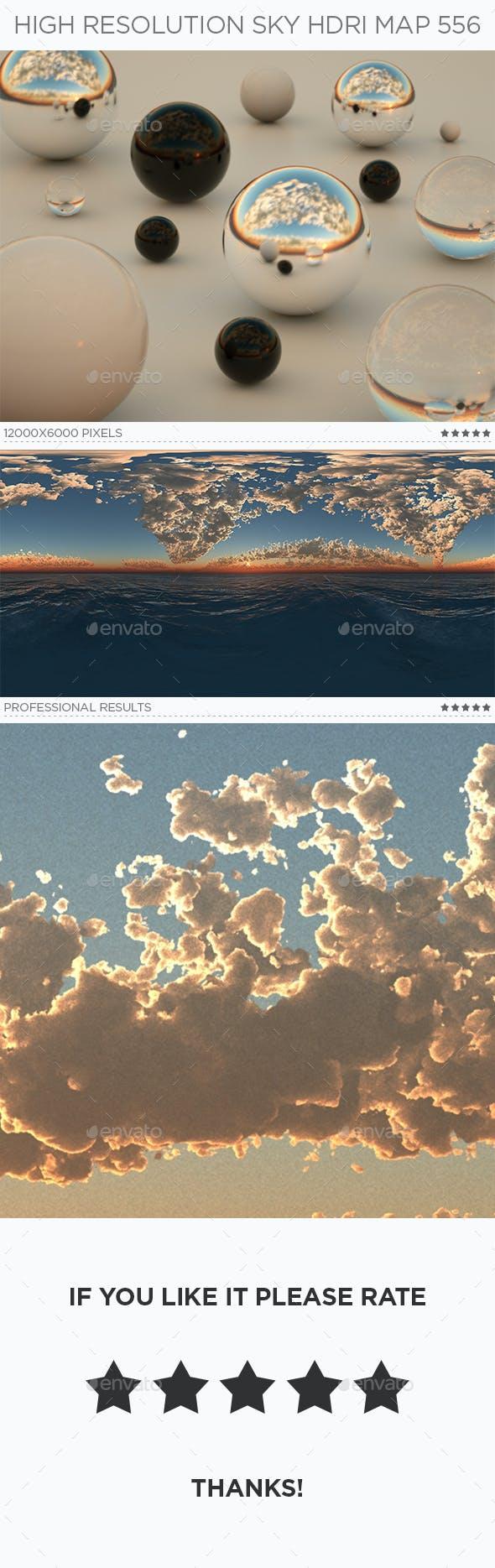 High Resolution Sky HDRi Map 556 - 3DOcean Item for Sale