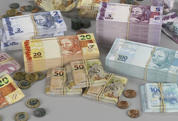Brazilian Real BRL Currency Pack - 3DOcean Item for Sale