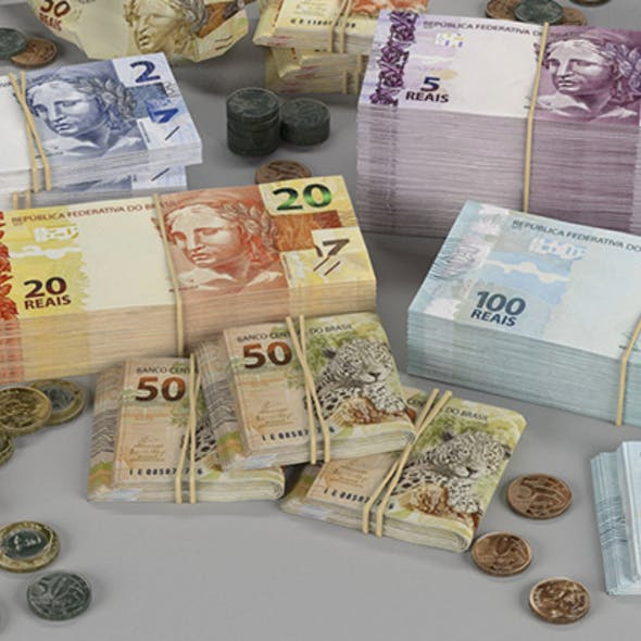 Brazilian Real BRL Currency Pack