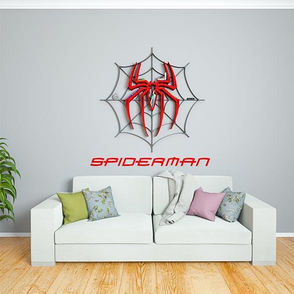 SPIDERMAN bookshelf - 3DOcean Item for Sale