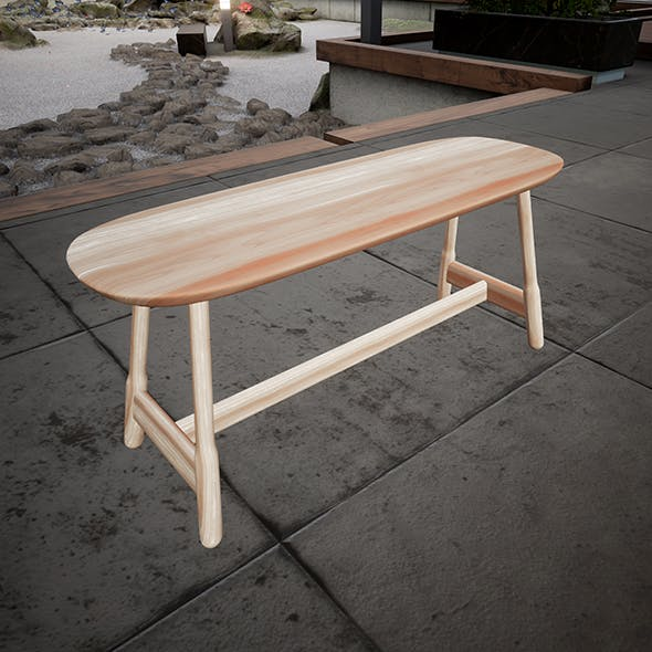 Massproductions Bench - 3DOcean Item for Sale