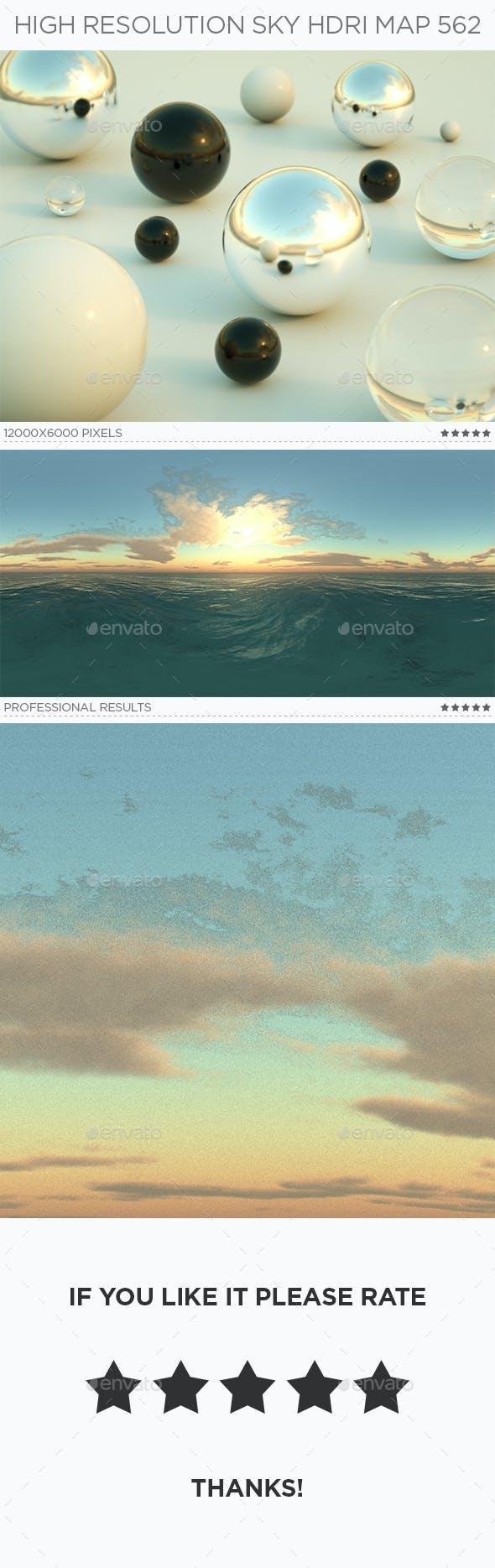 High Resolution Sky HDRi Map 562 - 3DOcean Item for Sale